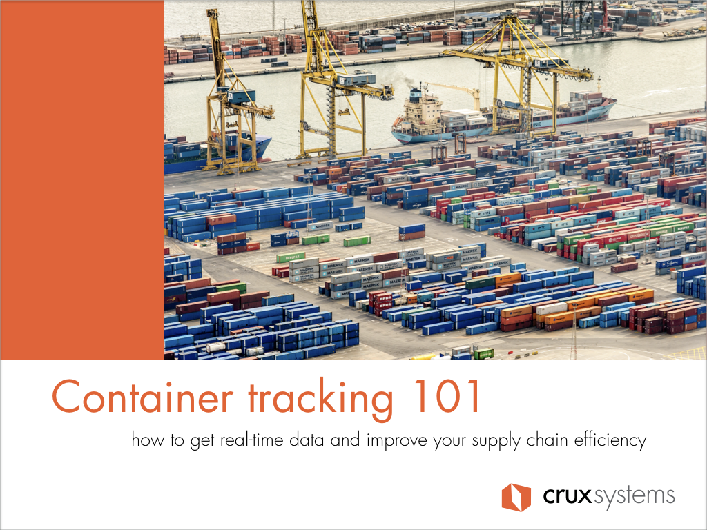Container tracking 101 - 2018.001